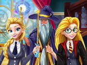 Princesses At School of Magic Game