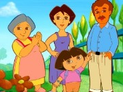 Find Dora Shadow Game