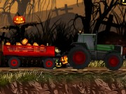 Halloween pumpkin deliver Game