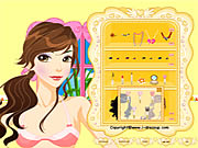 Vicky Dressup Game