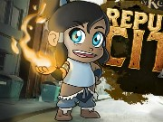 Korra Republic City Run Game