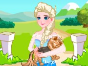 Elsa Dog Doctor Game