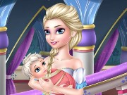 Old Elsa Care Baby Game