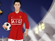 Christiano Ronaldo Dressup Game