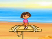 Dora and Diego Beach Treasure Game