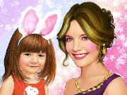 Suri and Katie Cruise Makeup Game