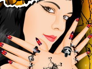 Halloween Nail Art Game