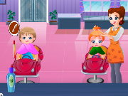 Kids Hair Salon Game