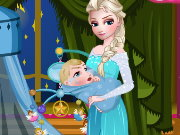 Elsa Care Baby Game
