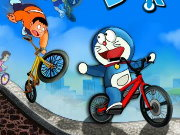 Doraemon Bicycle Racing Game