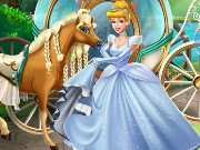 Girls Fix It Cinderella Chariot Game