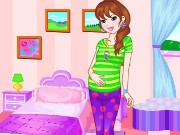 Pretty and Pregnant DressUp Game