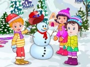 Baby Lisi Winter Party Game