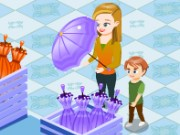 Kids Umbrella Store Game