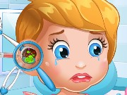 Baby Lizzie Ear Doctor Game