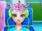 Elsa Brain Doctor Game