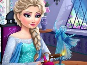 Elsa Crafts Game