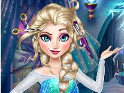 Elsa Frozen Real Haircuts Game
