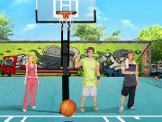 Urban Basketball Challenge Game