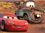 Disney Cars Hidden Letters Game