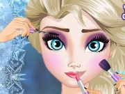 Elsa Makeup School Game