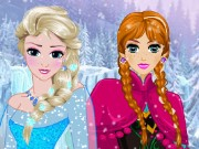 Elsa And Anna Hairstyles Game