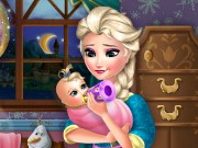 Elsa Frozen Baby Feeding Game