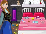 Frozen Anna Room Cleaning Game