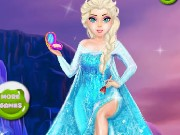 Frozen Elsa Freezing Makeover Game