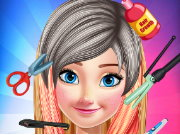 Princess Anna Hair Salon Game