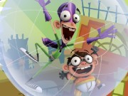 Fanboy and Chum Chum Bubble Trouble Game
