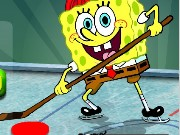 Spongebob İce Hockey Game
