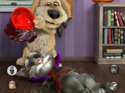 Talking Tom Cat Halloween Game