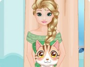 Elsa Pet Care Game