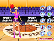 Trendy Dressup Cheerleader Game