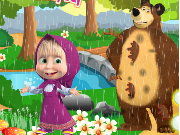 Masha and the Bear Rainy Day Game
