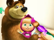 Masha And The Bear Coloring Book Game