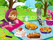 Masha and the Bear Picnic Game