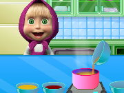 Masha Cooking School Game