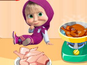 Masha Cooking Lesson Game