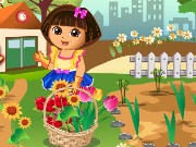 Dora Loves Flowers Game