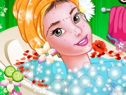 Princess Belle Enchanting Makeover Game