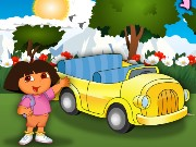 Dora at Car Show Game