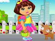 Dora Goes To School Game