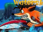 Crash Bandicoot Waterski Game