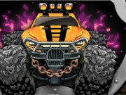 Monster Wheels Racing Game