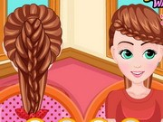 Anna Braided Hairstyles Game