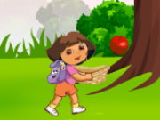 Dora Apples Catching Game