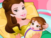 Princess Belle Gives Birth Game
