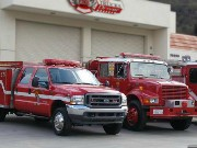 autista di camion dei pompieri